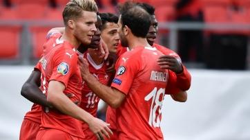 Грузия и Дания поделили очки, Швейцария разгромила Гибралтар