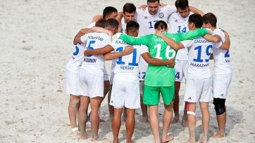 Сборная Казахстана по пляжному футболу осталась без путевки в «элиту» Евролиги