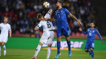 Греция продолжила пике в игре с Лихтенштейном, Италии обыграла Финляндию