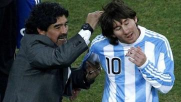 Марадона: «Месси больше не промахивается со штрафных после моих слов»