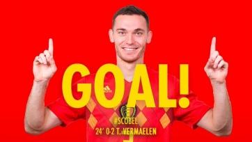 Вермален забил за сборную впервые за 10 лет