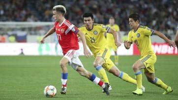 Сборная России дожала Казахстан на последних минутах