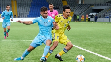 Молодежная сборная Казахстана уступила дома ровесникам из Израиля