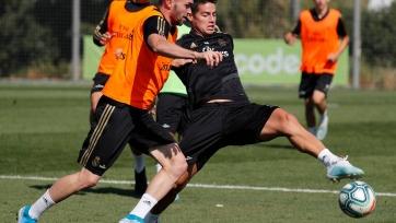 Азар и Хамес уже в общей группе мадридского «Реала»