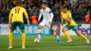Литва — Португалия — 1:5. Текстовая трансляция матча