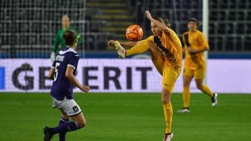 «БИИК-Казыгурт» провел первый матч с «Андерлехтом» в женской Лиге чемпионов