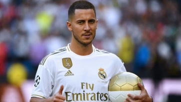 Азар включен в заявку «Реала» на матч с «Леванте»