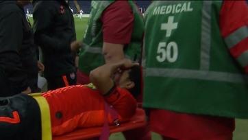 Лидер «Шахтера» унесен с поля на носилках накануне матча с «Ман Сити»