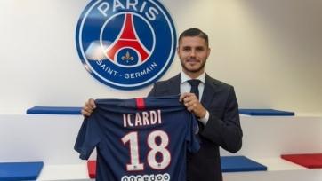 Икарди дебютировал за «ПСЖ» в Лиге 1