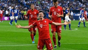Левандовски забил 7 мячей в 4 турах Бундеслиги