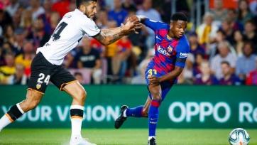 «Барселона» забила пять мячей «Валенсии». Второй гол 16-летнего Фати, ассист Черышева