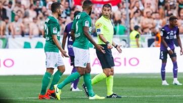 «Сент-Этьен» и «Тулуза» забили четыре мяча на двоих