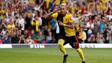 «Арсенал» упустил победу над «Уотфордом», выигрывая по ходу матча со счетом 2:0