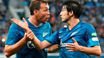 Первый гол «Зенита» в Лиге чемпионов. Видео