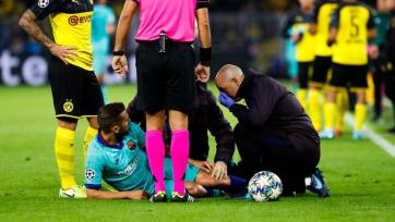 Альба травмировался в матче против дортмундской «Боруссии»