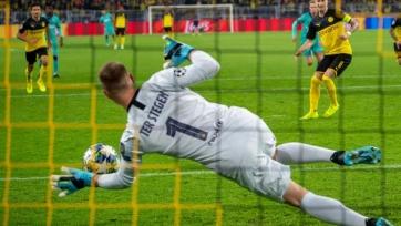 «Барселона» сумела отстоять ничейный результат в матче против «Боруссии» Дортмунд