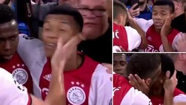 Нерес получил крепкую пощечину от Тадича во время празднования гола. Видео