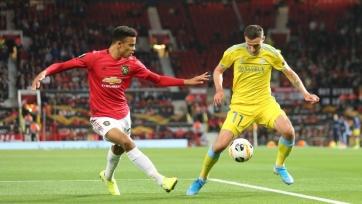 «Астана» минимально проиграла «Манчестер Юнайтед», «Александрия» уступила «Вольфсбургу»