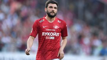Стала известна причина отсутствия Джикии в заявке «Спартака» на матч с «Уфой»