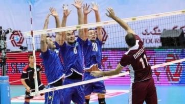 Сборная Казахстана по волейболу проиграла Катару на чемпионате Азии-2019
