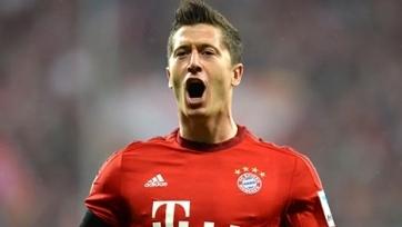 Левандовски признан лучший игроком месяца в Бундеслиге