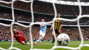 «Манчестер Сити» уничтожил «Уотфорд» со счетом 8:0