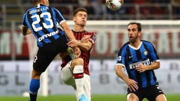 «Интер» уверенно разобрался с «Миланом» в дерби