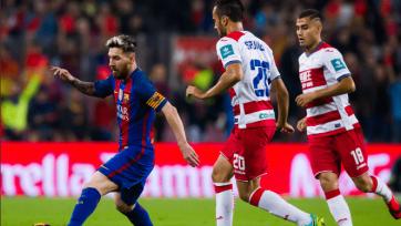 «Гранада» нанесла «Барселоне» очередное поражение в гостях