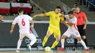 Сборная Казахстана стартовала с поражения в Кубке Каспия