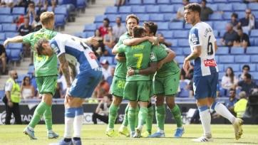 «Реал Сосьедад» на выезде обыграл «Эспаньол» и вышел на первое место