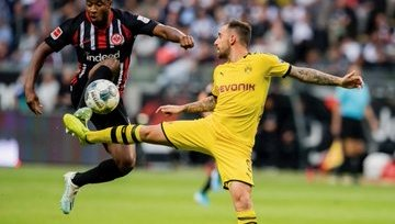 Дортмундская «Боруссия» упустила победу в матче с «Айнтрахтом»