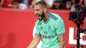 Гол Бензема принес победу «Реалу» над «Севильей»