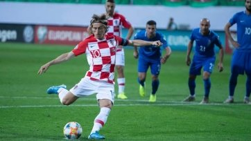 Модрич в октябре не сыграет за сборную