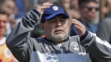 Марадона потерпел второе поражение подряд в качестве главного тренера «Химнасии»