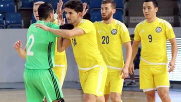 Футзал. Казахстан обыграл Азербайджан в «Кубке Каспия»