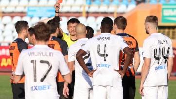 Хавбек «Шахтера» получил три матча дисквалификации