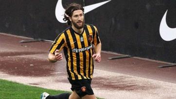 Чигринский забил первый в сезоне гол за АЕК. Видео