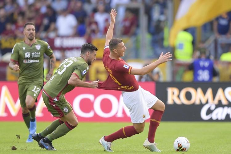 «Рома» – «Кальяри» – 1:1. 06.10.2019. Чемпионат Италии. Обзор и видео матча