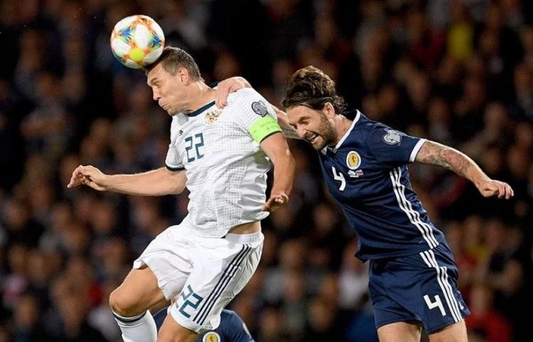 Россия - Шотландия 10 октября прямой эфир