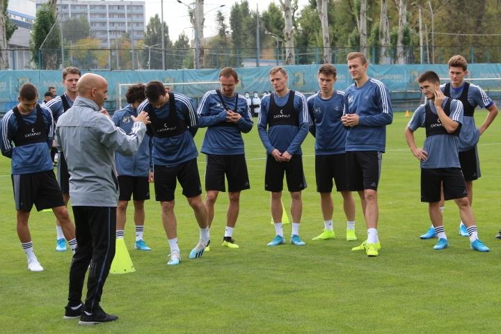 Мамаев и Еременко тренируются в общей группе Ростова