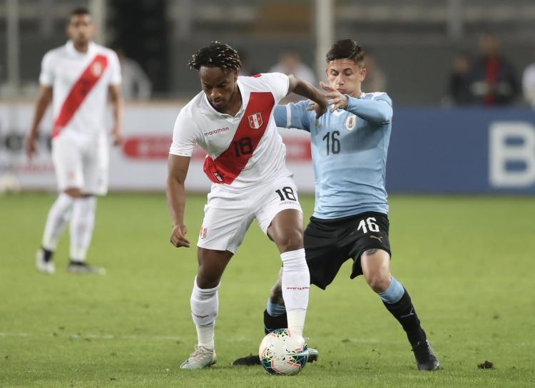 ТМ. Перу и Уругвай сыграли вничью