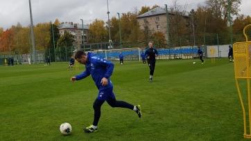 Соснин вернулся в общую группу «Динамо»