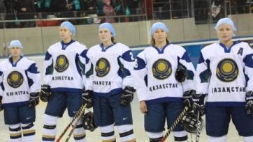 Женская сборная Казахстана выиграла все пять матчей в хоккейной Евролиге