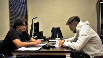 Карп подписал новый контракт с «Уфой»