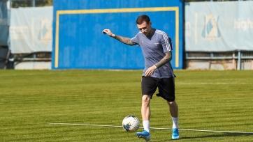 Мамаев провел первую тренировку в «Ростове»