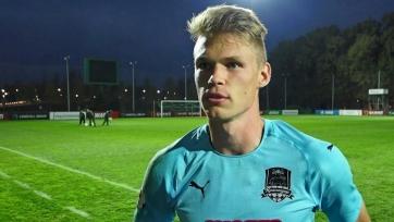 Гол вратаря молодежной сборной России принес его клубной команде победу после четырех поражений кряду. Видео