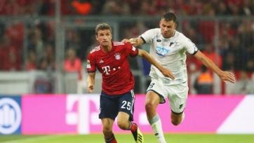 «Хоффенхайм» обыграл на выезде «Баварию», а «Боруссия» вновь потеряла очки
