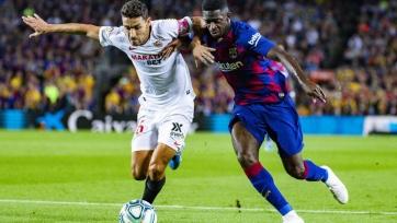 «Барселона» разгромила «Севилью», Месси забил первый гол в сезоне