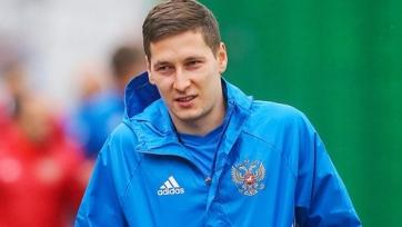 Кузяев тренируется индивидуально, еще три игрока сборной России сегодня занимались в тренажерном зале