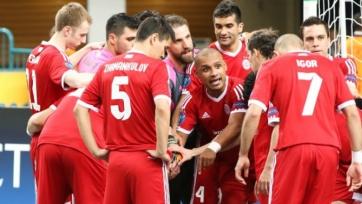 «Кайрат» проиграл российским «коммунистам» в первом матче Лиги чемпионов
